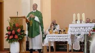 Sign Language Mass - homily by a deaf priest