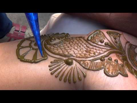Indo Arabic Full Hand Bel Henna Mehendi Design:New Bridal Mehndi Tattoo 2014