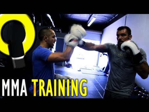 MMA training with Dean Lister - Improving boxing technique Image 1