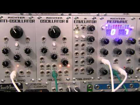 Modular Wild-Malekko Heavy Industry-Richter Megawave-Bank 7 and Drum Triggers
