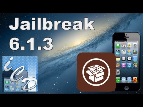 Jailbreak IOS 6.1.3 Tutorial