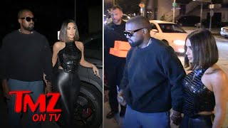 Kim & Kanye Hit The Town Looking Better Than Ever | TMZ TV