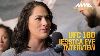 UFC 180: Jessica Eye Ending Relationship With Dad Changed Attitude