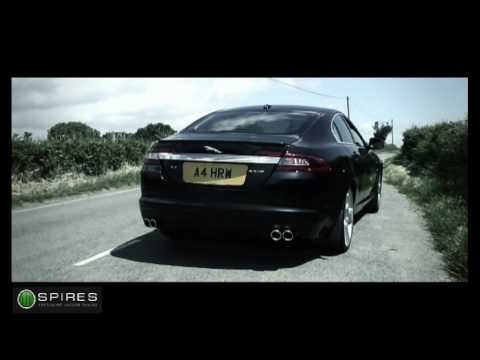 Spires Jaguar XF SV8 Sports Exhaust