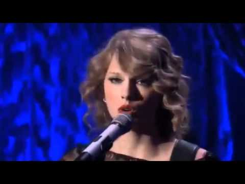Taylor Swift - 'back To December' Live Hd video