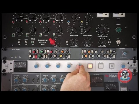 The SSL Bus Compressor In Action