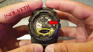 How to sync Casio 5146 5425 (Gshock analog hands and digital display not matching)