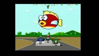 [SNES] Super Mario Kart - Retro Gameplay
