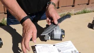 Sharpening an Outdoor Knife Using the Work Sharp Knife Sharpener