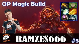 Ramzes - Ember Spirit MID | OP Magic Build 21-1 | Dota 2 Pro MMR Gameplay #3