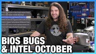 HW News - AMD BIOS Bugs, Arcturus GPU, & Intel Rumors for October