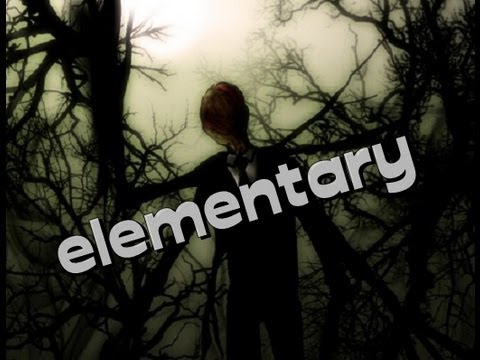 jogando slender elementaryslender  aluno
