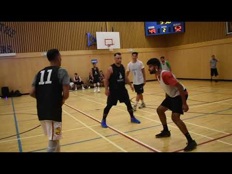 2018 Surrey Summer League - Karn vs Brodies - Roundball BC Mens Basketball League