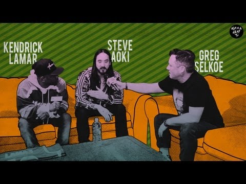 Greg Selkoe Interviews Kendrick Lamar and Steve Aoki