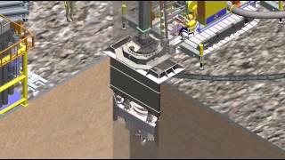 [SADC] - Mô phỏng công nghệ thi công cọc Barrette