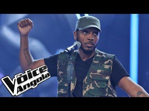"""#EquipaDji com """"Acapela"""" / The Voice Angola 2015 / Show ao Vivo 4"""