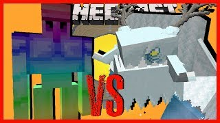 Minecraft - THE SPECTRITE GOLEM VS THE FROSTMAW & ALL THE OTHER MOWZIES MOBS