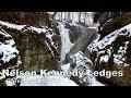 Winter Hiking Nelson-Kennedy Ledges State Park | Garrettsville, OH
