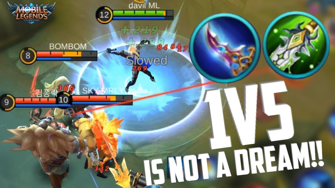 1V5 IS EASY - LANCELOT! INSANE ASSASSIN | MOBILE LEGENDS NEW HERO LANCELOT RANKED GAMEPLAY