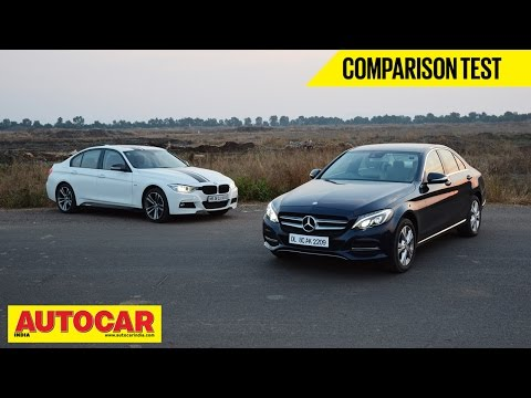 Mercedes-Benz C 220 CDI VS BMW 320d | Comparison Test | Autocar India