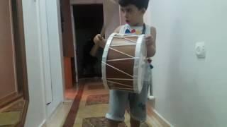 Kücük davulcu Furkan Efeden  Ankaranın Baglari.Eğlenceli çocuk videosu  drum show solo