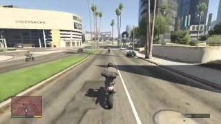 GTA V Gameplay - Bank Robbery
