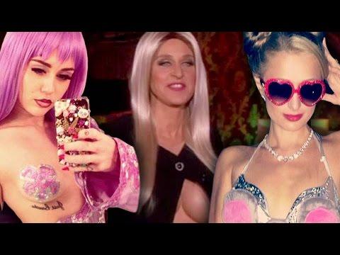10 Famosos Disfrazados de Otros Famosos en Halloween