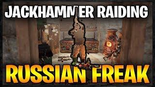 JACKHAMMER RAIDING a RUSSIAN FREAK - Profit or Fail #55 | Rust Raids Vanilla