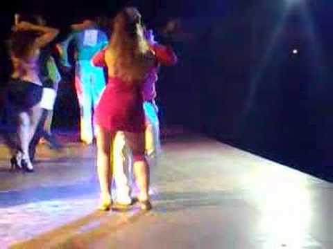 fabian y eli bailando bachata. Video