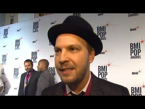 Gavin DeGraw Interviewed at the 2013 BMI Pop Music Awards