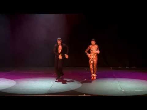 Latin Motion's Oliver and Luda 5 times World Salsa Champions 2012 Sydney Latin Dance Cup