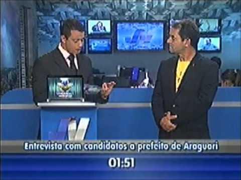 Entrevista com o candidato a prefeito de Araguari Serginho de Jesus