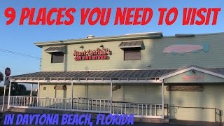 My Favorite Places in Daytona Beach, Florida