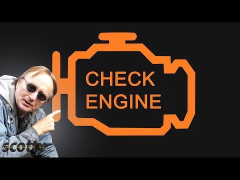 Fixing A Check Engine Light That's On