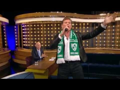 """David Hasselhoff - """"Tell Me Ma""""   The Ray D'Arcy Show   The Ray D'Arcy Show"""