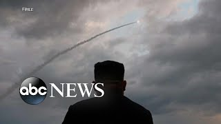North Korea fires at least 2 projectiles into sea l ABC News