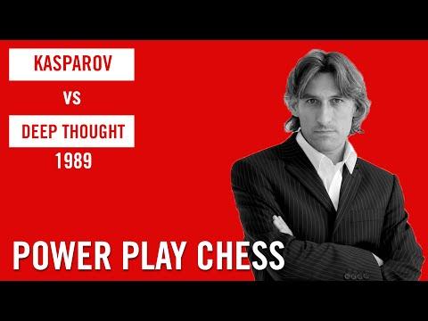 Garry Kasparov vs Deep Thought 1989