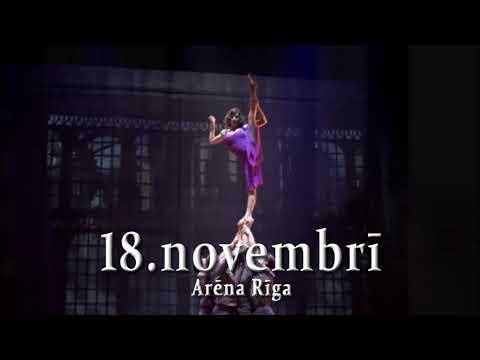 Cirque Eloize's lat 15 for ekrani RealMedia