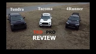 2019 TRD Pro Series Review - Tundra Tacoma 4Runner (What you get on a TRD Pro)