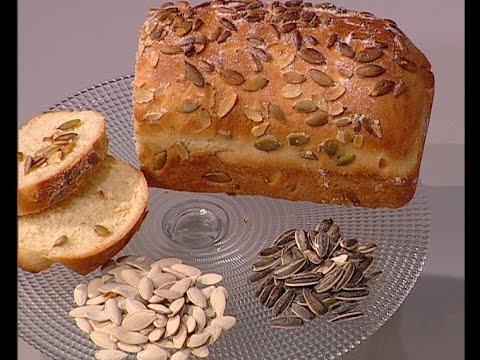 خبز بحبوب القرع ودوار الشمس على طريقة الشيف #وحيد_كمال  من برنامج #الفطاطرى #فوود