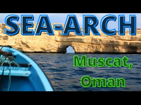 Speedboat to Sea-Arch, Muscat, Oman