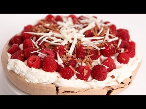 Chocolate Pavlova Recipe - Laura Vitale - Laura in the Kitchen Episode 576