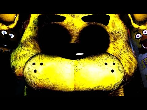 WAS THAT GOLDEN FREDDY?! | Five Nights at Freddy's - Part 2