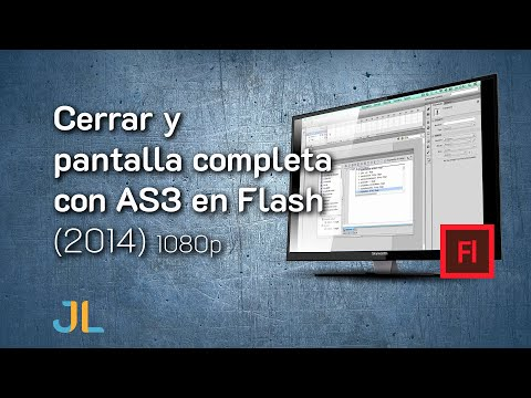Cerrar y pantalla completa con AS3 en Flash thumbnail