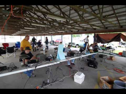 2011 Field Day operating.mov