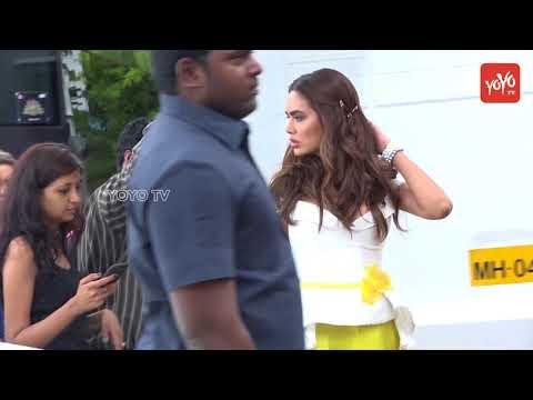 Esha Gupta Spotted On Set Of TV's  High Fever Dance Ka Naya Tevar | WatchOut The Fun | YOYO TV Hindi