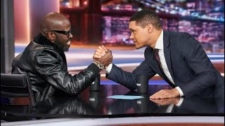 Black coffee on the daily show with Trevor Noah is inspiring