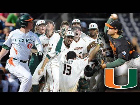 Get to Know No.1 Miami Hurricanes Baseball