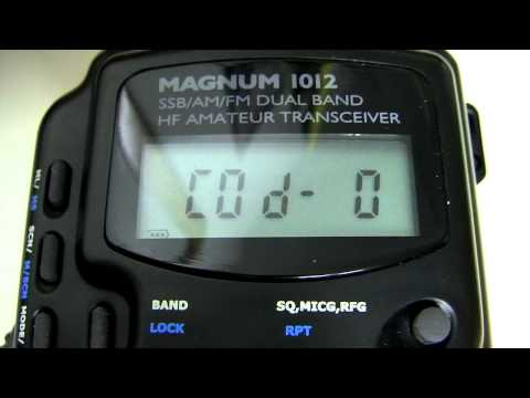 Magnum 1012 AM/FM/SSB Expanded Frequency Conversion 10 & 12 Meter / CB Radio