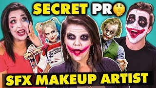 Secret Pro Makeup Artist DESTROYS Regular People (SFX Makeup Challenge)